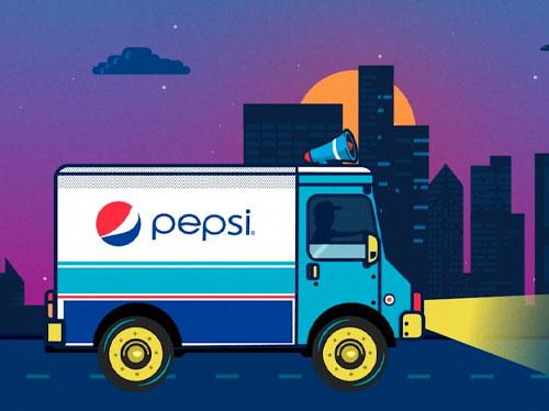 Pepsi / Truck