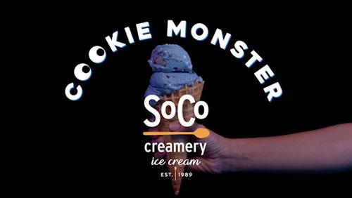 Soco Creamery / Cookie Monster