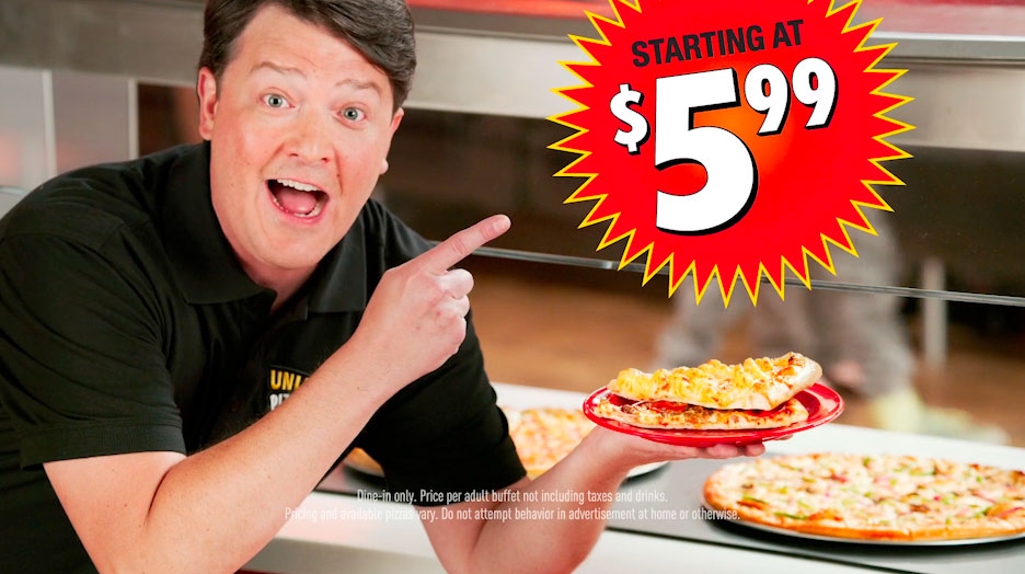 Cicis Pizza / Unlimited!